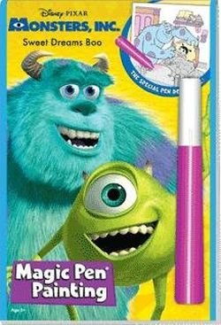 Lee Publications DISNEY MONSTER INC MAGIC PEN PAINTING BOOK