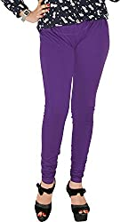 Red Chilli Women's Cotton Slim Fit Leggings (alg_046_rc, Free Size, Indigo)