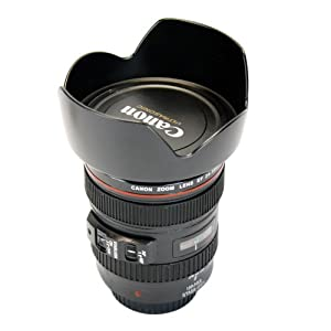 1:1 Coffee Cup Mug for Canon Lens Ef 24-105mm F/4l Is USM 5d (Just a Coffee Cup, Not Camera Accessory)