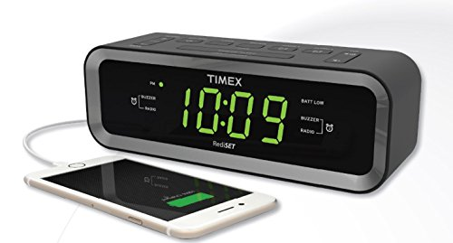 timex-t236b-am-fm-dual-alarm-clock-radio-with-usb-charge-port-black