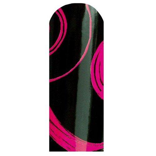ネイルシール 24ブリックス 柄 2セット ブラック・Pマーブル・BXS021