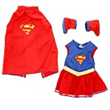 Super Girl Doll Clothes for 18 Dolls: Super Hero Outfit By Dress Along Dolly (Includes Dress, Shoes, and Cape)