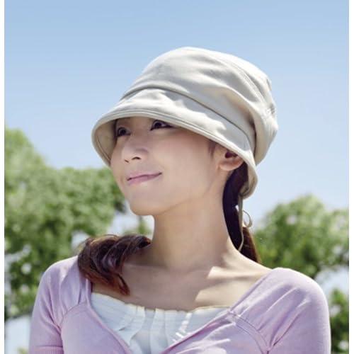 すっぴん女優帽 ベージュ