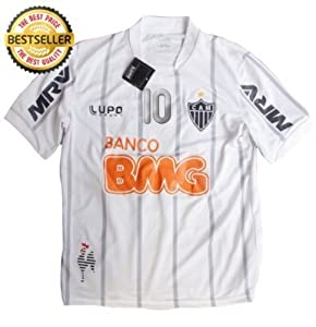 Amazon.com : 2013 NEW ATLETICO MINEIRO AWAY RONALDINHO #10 FOOTBAL