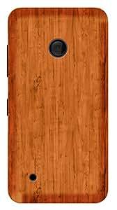 TrilMil Printed Designer Mobile Case Back Cover For Nokia Lumia 530
