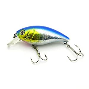 1x freshwater saltwater coarse sea crank for Amazon fishing lures