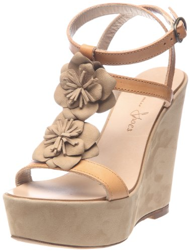Tosca Blu Shoes Girasole 2, Sandali Donna, Multicolore (Multicolore (01F Naturale/Beige)), 40