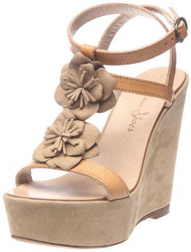 Tosca Blu Shoes Girasole 2, Sandali Donna, Multicolore (Multicolore (01F Naturale/Beige)), 40