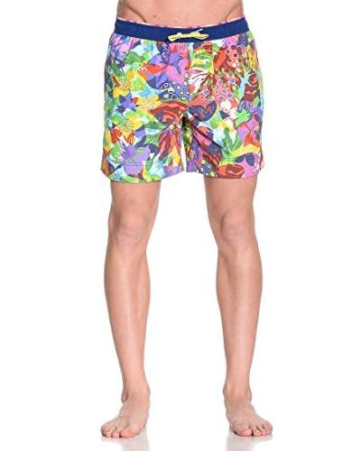 Allen Cox Shorts da Bagno Verbir [Multicolore]