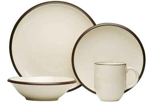 Red Vanilla Hampshire Cream 16-Piece Dinnerware Set (Cream Dinnerware Set compare prices)