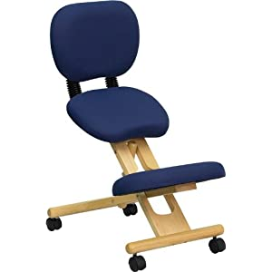 Wooden Ergonomic Kneeling Posture Office Chair Reviews