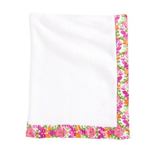Vera Bradley Baby Plush Blanket in Lilli Bell - 1
