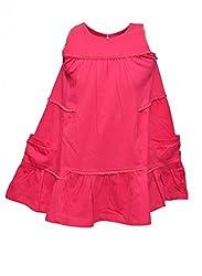 GIRLS DRESS PEPITO AS-1027P PINK 5-6 Y