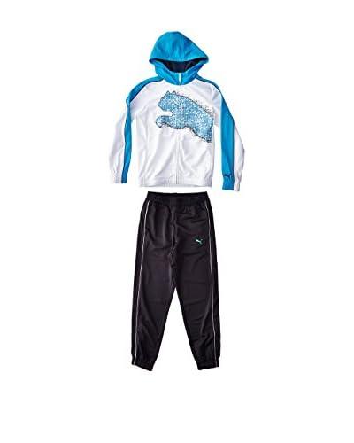 Puma Chándal Boy's Poly Suit H Blanco / Negro
