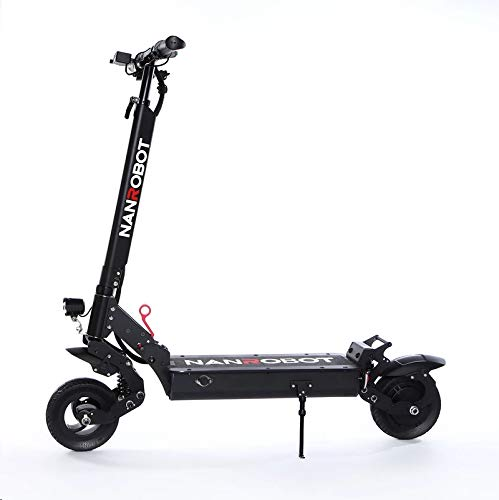 Wfmount High-Speed Electric Scooter 350W Motor 40 KM Long Mileage Folding Commuter for Adults Students with Double Braking System