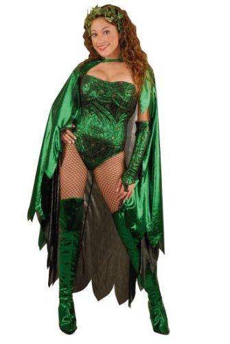 Teen Poison Ivy Halloween Costume (Size:3-5)