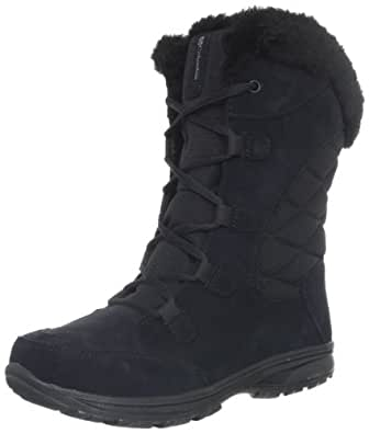 Columbia Women's Ice Maiden Lace Winter Boot, Black