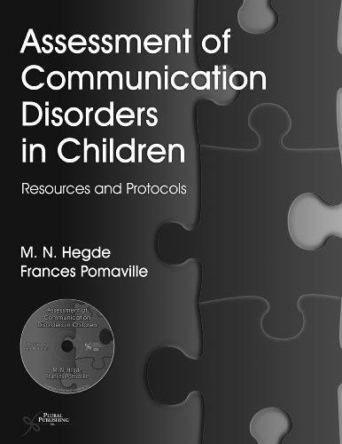 Assessment of Communication Disorders in Children:...