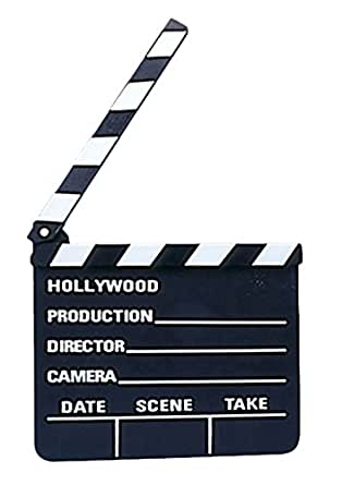 Loftus Hollywood Movie Clapper Board Costume Accessory Black White