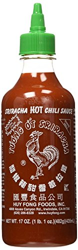Huy Fong, Sriracha Hot Chili Sauce, 17 Ounce Bottle - 6 pack (Backdraft Hot Sauce compare prices)