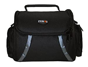Zeikos ZE-CA48B Deluxe Soft Medium Camera and Video Bag
