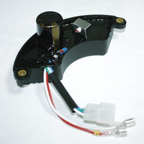 Avr Automatic Voltage Regulator For Generator 6.5Kw 7Kw 7.5Kw 8Kw Halfmoon Style