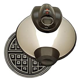 Euro Cuisine Traditional Belgium Waffle Maker