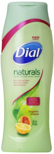 Dial Body Wash, Naturals Tangerine and Guava, 16 Ounce (Dial Soap No Scent compare prices)