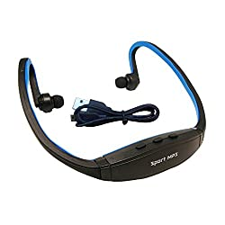 Micomy Wireless Sports MP3 Music Player for Gym Running Jogging - Blue