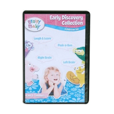 Cover art for  Brainy Baby Early Discovery Collection DVDs