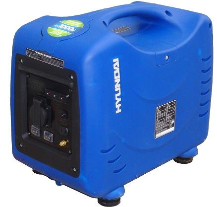 Hyundai HY1000Si 1KVA Pure sine wave inverter Generator, quiet and portable