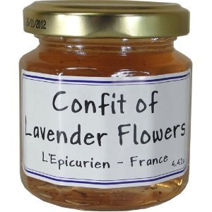 L'Epicurien Confit of Lavender Flowers 4.4 oz.