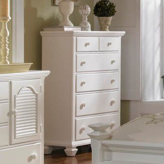 Drawer Chest by Broyhill - White Finish (4024-240)