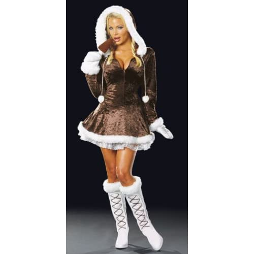 Sexy Costumes: Sexy Girls in Sexy Eskimo Cutie Costume