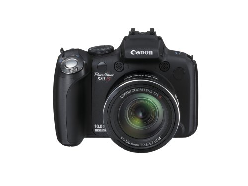 Canon PowerShot SX1 IS is one of the Best Digital Cameras Overall Under $500 with at least 10x Optical Zoom