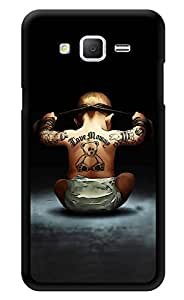 """Humor Gang Ninja Baby Printed Designer Mobile Back Cover For """"Samsung Galaxy On5"""" (2D, Glossy, Premium Quality, Protective Snap On Slim Hard Phone Case, Multi Color)"""
