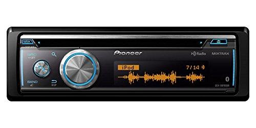 PIONEER DEH-X8700BH Single-DIN CD Receiver mit LCD Display mit Punkten, Bluetooth, mit Siri Augen, USB, Android Internet Radio Unterstützung Musik & Pandora (HD Radio)