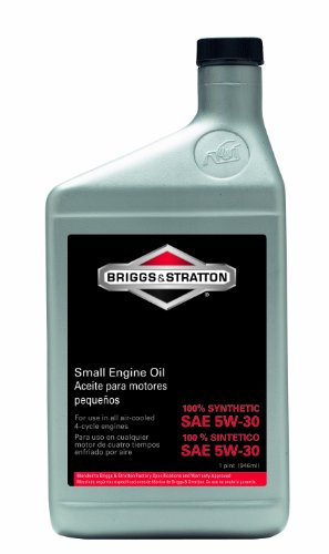 Briggs & Stratton SAE 5W-30 Synthetic Small Engine Motor Oil - 32 Oz. 100074