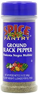 Spice Pantry Black Pepper, Ground, 2.15-Ounce (Pack of 12)