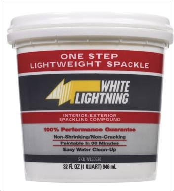 Buy Qt Spackling Compound (White Lighting Product Painting Supplies,Home & Garden, Home Improvement, Categories, Painting Tools & Supplies, Wallpaper Supplies, Wall Repair, Spackle)