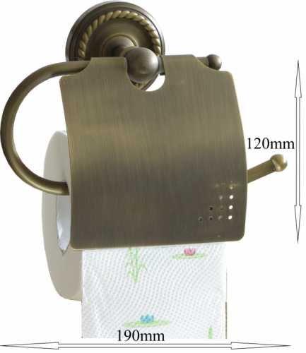 Toilettenpapierhalter Klorollenhalter WC-Rollenhalter Antik 9006