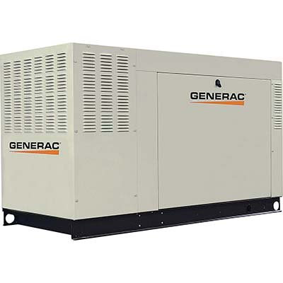Generac Qt06024Gnsx 60 Kw Liquid-Cooled Automatic Standby Generator, 3,600 Rpm, 120/208V, 3-Phase