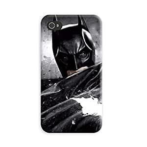 Aurmen High Quality Printed Designer Back Case Cover for Apple Iphone 4s (Batman71)