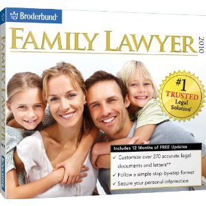 Broderbund Family Lawyer For Home & Business Easily Prepare Legal Documents In Three Steps