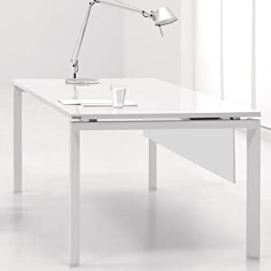 Superb 370 8 The Ergo Office 60 Inch Laptop Writing Desk White Home Interior And Landscaping Ymoonbapapsignezvosmurscom