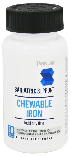 Twinlab Bariatric Support Iron Tablets