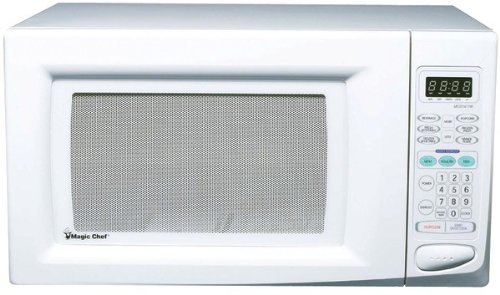 Magic Chef - 1.6 Cubic-Ft, 1,100-Watt Microwave With Digital Touch (White) *** Product Description: Magic Chef - 1.6 Cubic-Ft, 1,100-Watt Microwave With Digital Touch (White) 1.6 Cu-Ft Capacity 1,100W Digital Touch 10 Power Levels 6 Preprogrammed ***