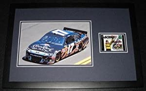 Matt Kenseth Signed Picture - Framed 11x17 Display - Autographed NASCAR Photos by Sports Memorabilia