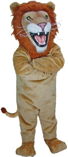 African Lion Mascot Costume