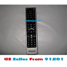 "Brand New Remote Control RC-201 for Polaroid LCD HDTV WORKS WITH POLAROID HDTV LCD SIZES FROM 15"" ~ 42"" Compatible with: 1911-TLXB, 1511-TLXB, 1513-TDXB, 1913-TDXB, 2611-TLXB, TDX-02610B, TLA-01511C, TLA-01911C, 3211-TLXB, 4011-TLXB, 4241-TLXB, 4641-TLXB, TDA-03211C, TLA-04011C, TLA-04641C, TLX-03210B, TLX-04240B, 4011-TLXB, 2611-TLXB, 3211-TLXB, 4211-TLXB, 4611-TLXB"